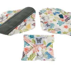 serviette de jour papillon